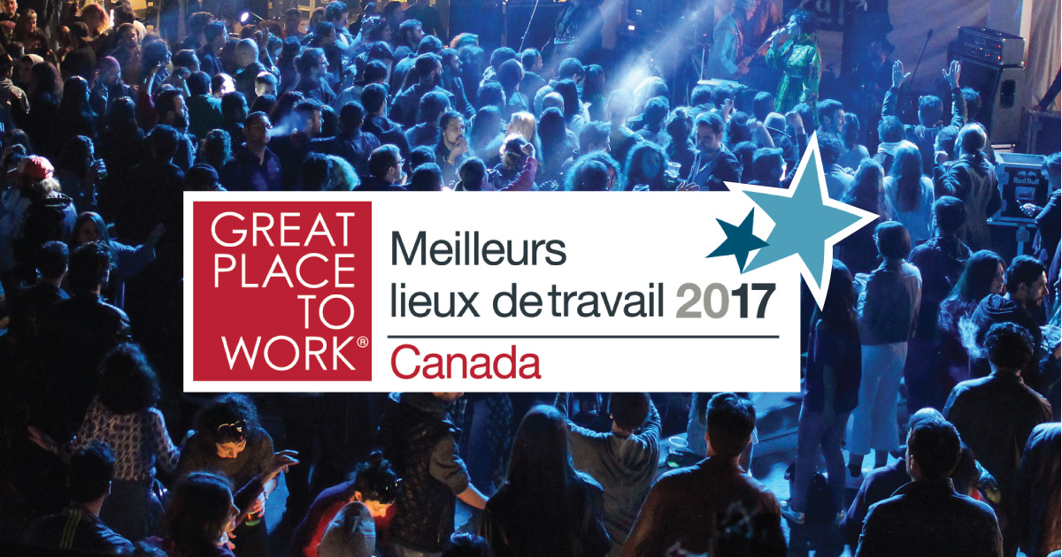 Great Place to Work Canada 2017
