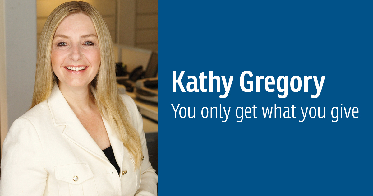Kathy Gregory, President and CEO of Paradigm Quest Inc