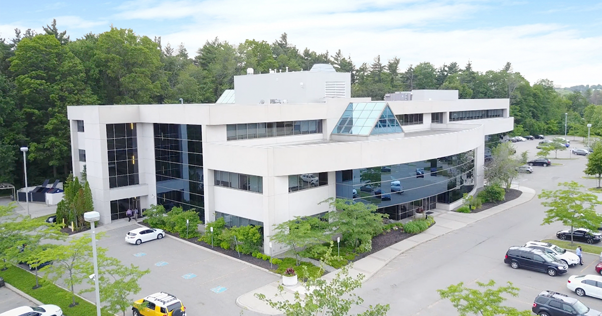 Exterior view of FCT's head office in Oakville