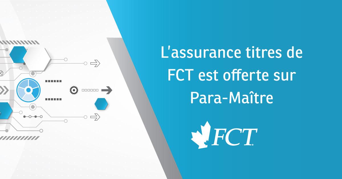 FCT est offerte sur Para