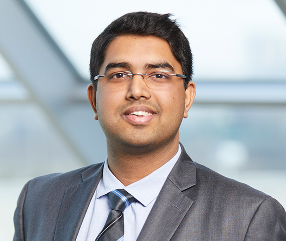 Headshot of Sharad Singh,  Sales Leader, Ontario, Residential title insurance