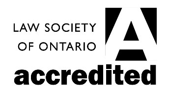 Law Society of Ontario Accredited Logo