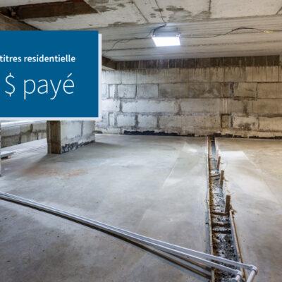 Blog image for Une entrée de sous-sol condamnée cause de sérieux problèmes à...